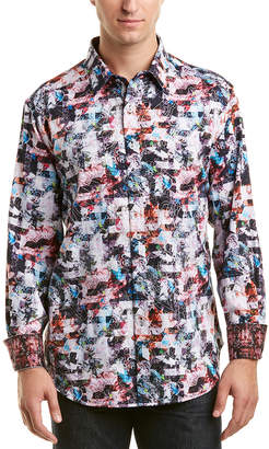 Robert Graham Classic Fit Ramblewood Woven Shirt