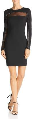 GUESS Galaxy Mesh-Inset Dress