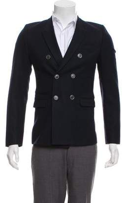 Givenchy Double-Breasted Wool Jacket