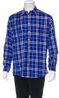 Burberry Nova Check Button-Up Shirt