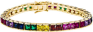 joolz by Martha Calvo Multicolor Tennis Bracelet