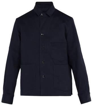 Acne Studios Media Cotton Twill Blazer - Mens - Navy