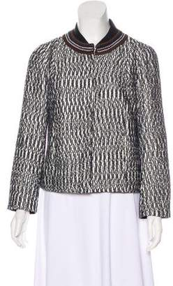 Tory Burch Textured Knit Jacket