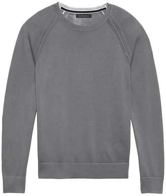 Banana Republic SUPIMA® Cotton Color-Printed Sweater