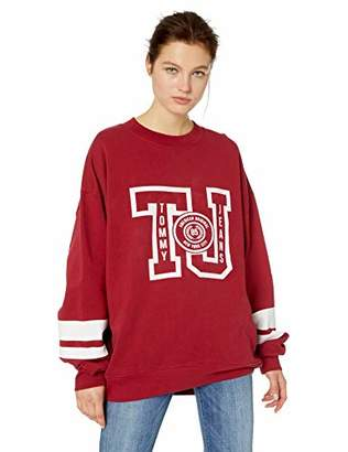 Tommy Hilfiger Tommy Jeans Women's Sweatshirt Oversized Varsity Crewneck