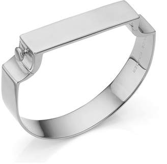 Monica Vinader Signature Wide Bangle