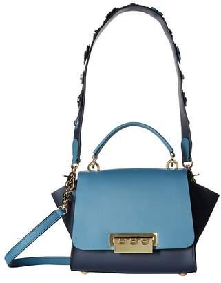 Zac Posen Eartha Top-Handle Crossbody - Color Block Cross Body Handbags