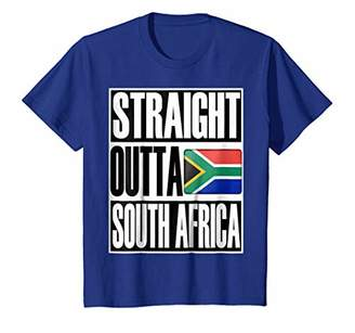 Storecastle: Straight Outta South Africa Pride Flag T-Shirt