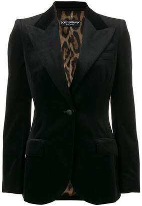 Dolce & Gabbana classic fitted blazer