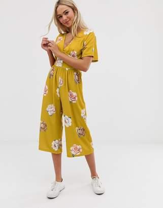 Love floral jumpsuit
