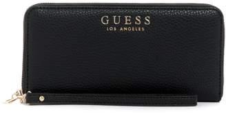 GUESS Large Wilder Zip-Around Wallet
