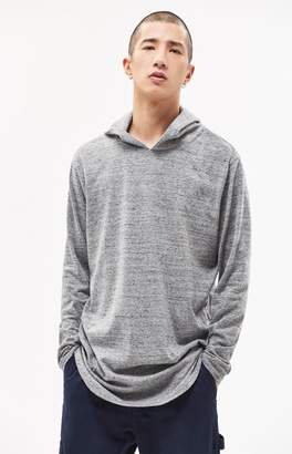 PacSun Aku Hooded Long Sleeve Scallop T-Shirt