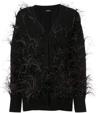 ADAM by Adam Lippes feathered cardigan