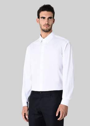 Giorgio Armani Stretch Poplin Shirt
