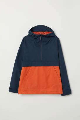 H&M Cotton-blend Anorak - Orange