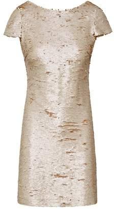 Sam Edelman Sequin Cap Sleeve Dress