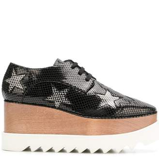 Stella McCartney Silver Stars Elyse shoes