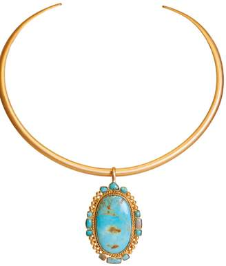 Christina Greene - Southwestern Pendant in Turquoise