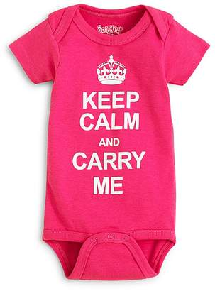 Bloomingdale's Sara Kety Girls' Keep Calm Bodysuit - Baby