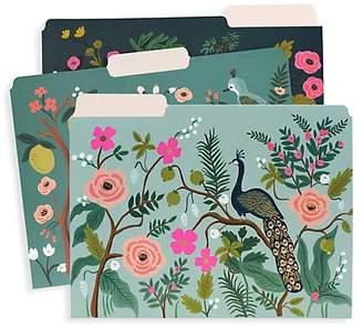 Rifle Paper Co. Set of Three Shanghai Garden File Folders