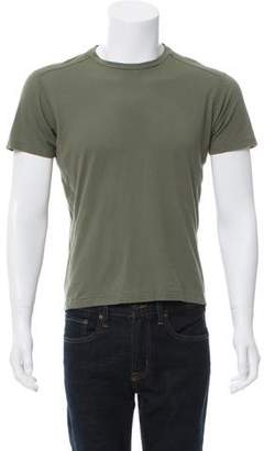 Calvin Klein Collection Quilted Crew Neck T-Shirt