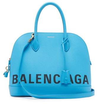 Balenciaga Ville Top Handle M Bag - Womens - Leopard