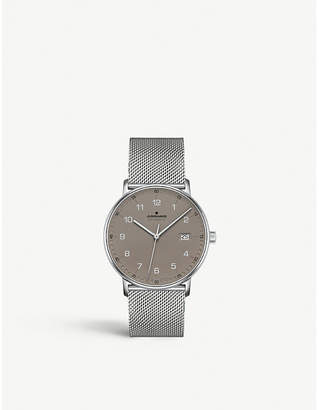 Junghans Form A stainless steel 027/4836.44 watch