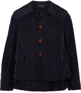 Comme des Garçons Comme des Garçons - Convertible Shell Jacket - Navy $1,165 thestylecure.com