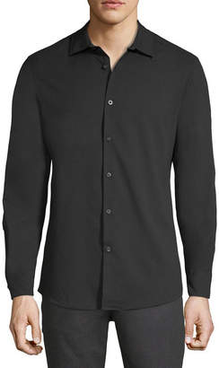 AXIST Axist Long Sleeve Button-Front Shirt