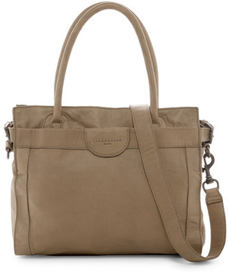 Liebeskind Berlin Glory Collapsible Leather Tote $248 thestylecure.com