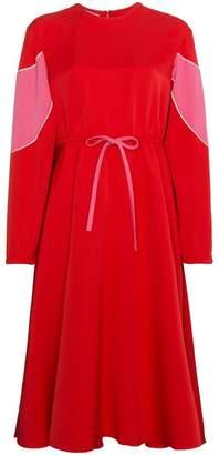 Valentino Silk Drawstring Midi Dress