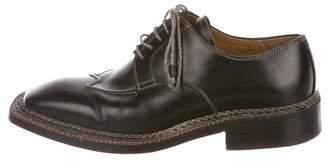 Bettanin & Venturi Leather Derby Shoes