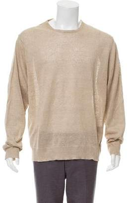 Burberry Linen Crew Neck Sweater