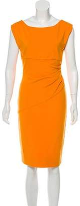Diane von Furstenberg Ruched Midi Dress