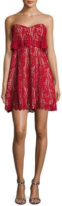 The Jetset Diaries Lolita Lace Mini Dress