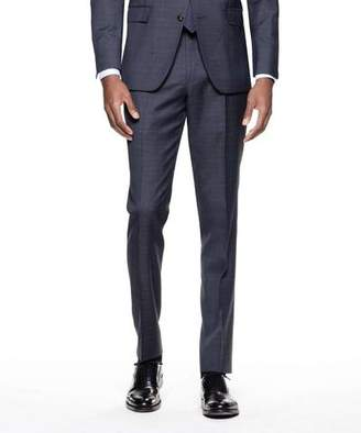 Todd Snyder Black Label Sutton Suit Pant in Italian Navy Glen Plaid Tropical Wool