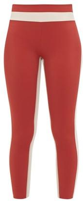 Vaara Flo Tuxedo Performance Leggings - Womens - Cream Multi