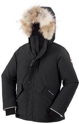 Canada Goose Boys' Logan Parka with Fur Trim, Size XS-XL $545 thestylecure.com