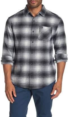 Original Penguin Plaid Flannel Heritage Slim Fit Shirt
