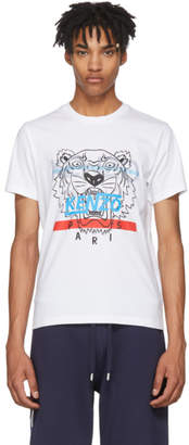 Kenzo White Hyper Tiger T-Shirt