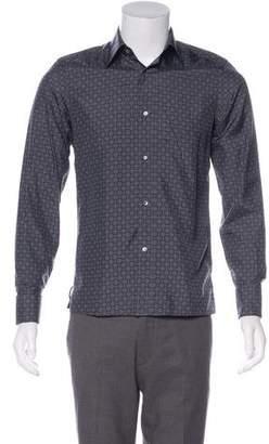 Gucci Silk French Cuff Shirt
