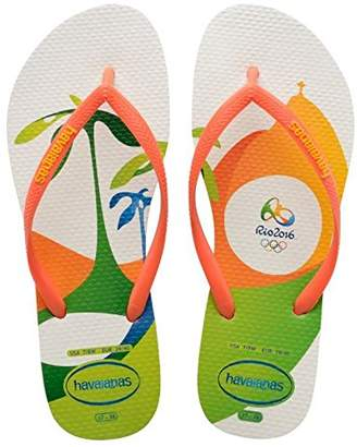 40014866a3be Havaianas Orange Sandals For Women - ShopStyle UK