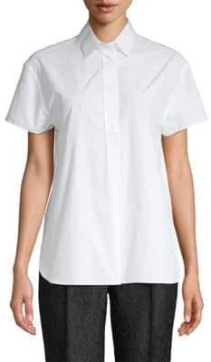 Dolce & Gabbana Short-Sleeve Button-Down Shirt