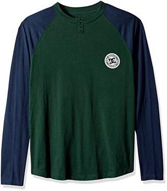 DC Men's Basic Long Sleeve 2 TEE Shirt