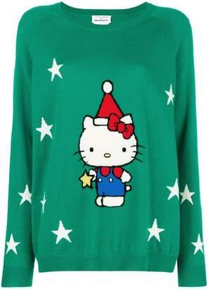 Hello Kitty Chinti & Parker cashmere star sweater