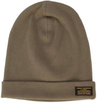 cable-knit beanie hat - Green Avant Toi PlOiX