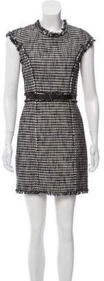 Rebecca Taylor Bouclé Mini Dress