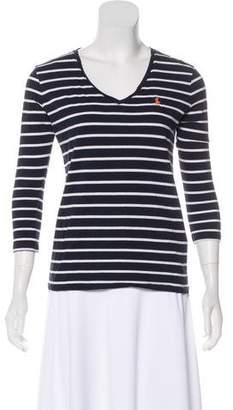 Ralph Lauren Sport Stripe Knit Top