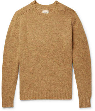 Bellerose Umash Mélange Shetland Wool Sweater