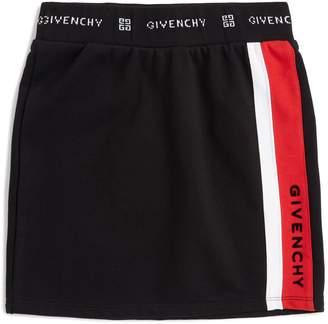 Givenchy Logo Panel Mini Skirt